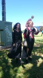 Bellatrix Lestrange and Lilly Potter