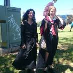 Bellatrix Lestrange and Lilly Potter